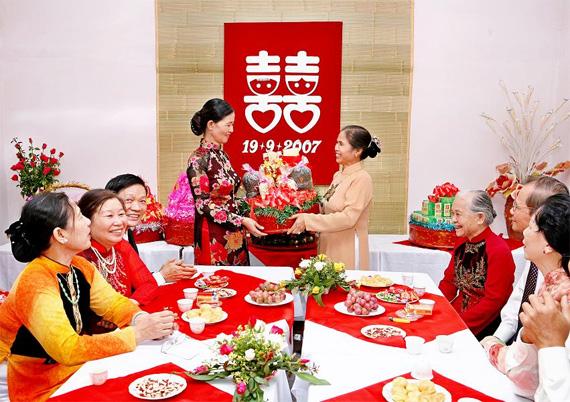 Phong tục cưới hỏi người Việt