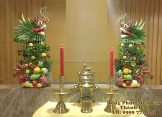 Cặp rồng trái cây tươi Thành Đạt