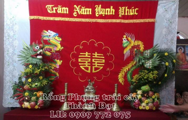Rồng phụng trái cây đầu cao
